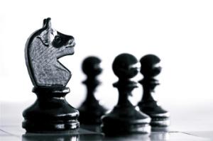 Aktienstrategien wie Schach spielen