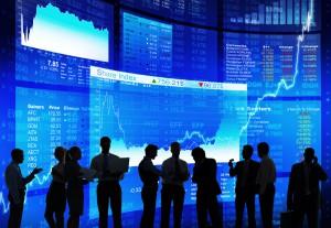 Diskussion an der Börse